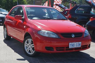 2006 Holden Viva JF Red 4 Speed Automatic Hatchback.