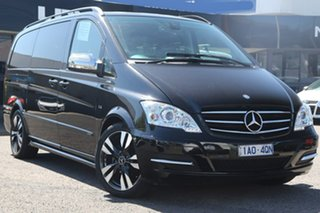 2014 Mercedes-Benz Viano 639 MY13 Grand Edition Avantgarde Black 5 Speed Automatic Wagon.
