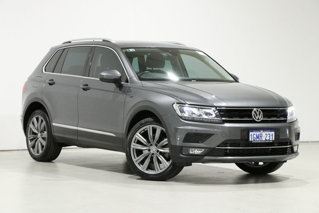 Used Volkswagen Tiguan 5NA MY18 162 TSI Sportline Bentley, 2018 Volkswagen Tiguan 5NA MY18 162 TSI Sportline Grey 7 Speed Auto Direct Shift Wagon