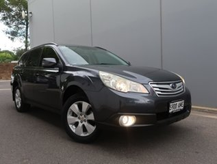 2011 Subaru Outback B5A MY11 2.5i Lineartronic AWD Grey 6 Speed Constant Variable Wagon.