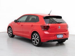 2018 Volkswagen Polo AW MY19 GTi Red 6 Speed Auto Direct Shift Hatchback