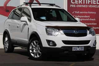 2013 Holden Captiva CG MY13 5 AWD LT White 6 Speed Sports Automatic Wagon.