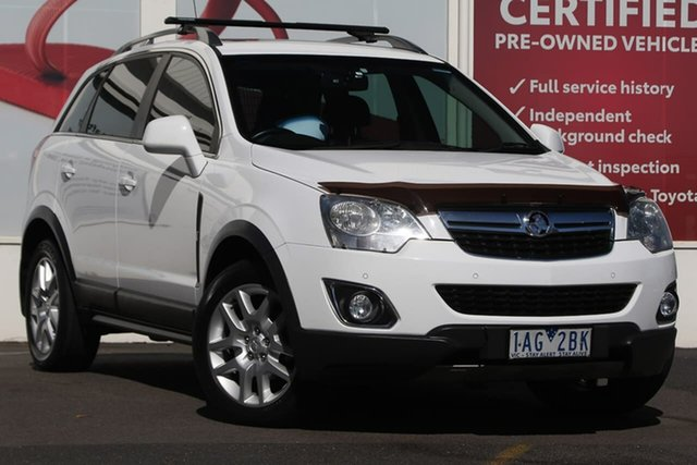 Pre-Owned Holden Captiva CG MY13 5 AWD LT Ferntree Gully, 2013 Holden Captiva CG MY13 5 AWD LT White 6 Speed Sports Automatic Wagon