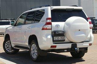 2014 Toyota Landcruiser Prado KDJ150R MY14 Kakadu Pearl White 5 Speed Sports Automatic SUV.