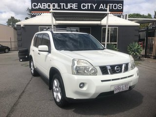 2009 Nissan X-Trail T31 MY10 TS (4x4) White 6 Speed Manual Wagon