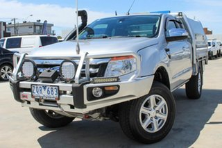 2013 Ford Ranger PX XLT Super Cab Silver 6 Speed Manual Utility.