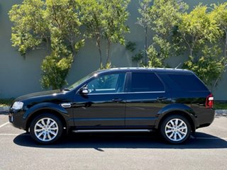 2009 Ford Territory SY MkII Ghia RWD Black 4 Speed Sports Automatic Wagon