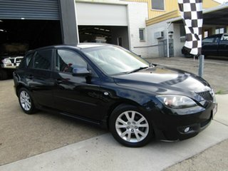 2007 Mazda 3 BK10F2 Maxx Sport Black 5 Speed Manual Hatchback.