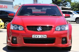 2010 Holden Commodore VE II SS-V Redline Edition Red 6 Speed Automatic Sedan