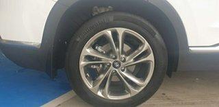 2019 Hyundai Santa Fe TM MY19 Highlander White Cream 8 Speed Sports Automatic Wagon