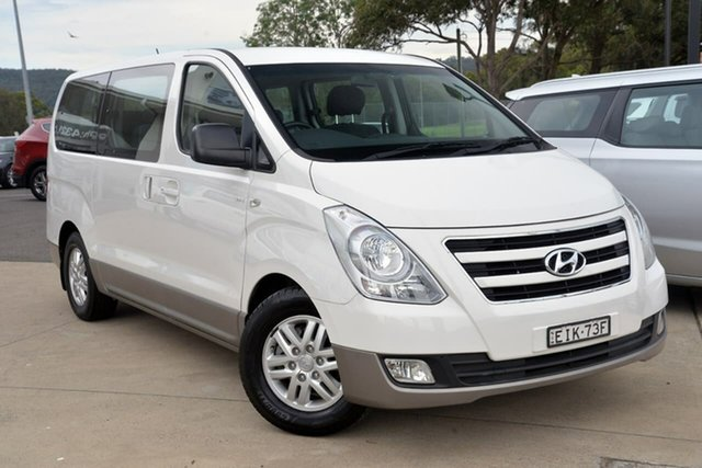 Used Hyundai iMAX TQ3-W Series II MY16 Tuggerah, 2016 Hyundai iMAX TQ3-W Series II MY16 White 5 Speed Automatic Wagon