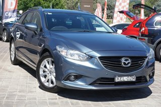 2013 Mazda 6 GJ1031 Touring SKYACTIV-Drive Blue 6 Speed Sports Automatic Wagon.