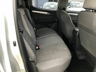 2014 Holden Colorado RG MY14 LX Crew Cab Silver 6 Speed Sports Automatic Cab Chassis
