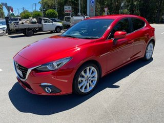 2015 Mazda 3 BM5438 SP25 SKYACTIV-Drive GT Red 6 Speed Sports Automatic Hatchback.