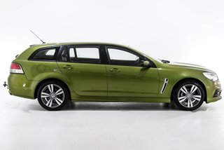 2015 Holden Commodore VF MY15 SV6 Sportwagon Green 6 Speed Sports Automatic Wagon