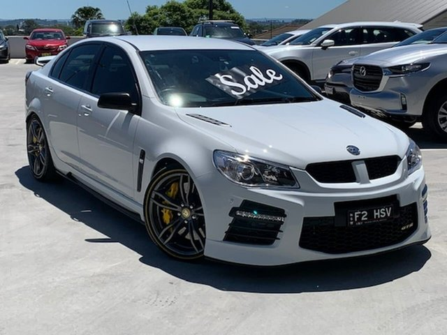 Used Holden Special Vehicles GTS Gen-F2 MY16 Liverpool, 2016 Holden Special Vehicles GTS Gen-F2 MY16 White 6 Speed Sports Automatic Sedan