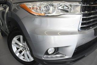 2016 Toyota Kluger GSU50R GX (4x2) Silver 6 Speed Automatic Wagon.