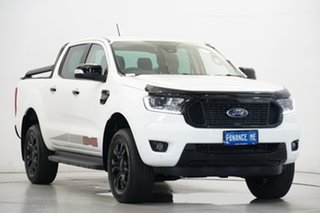 2020 Ford Ranger PX MkIII 2020.25MY FX4 White 10 Speed Sports Automatic Double Cab Pick Up.