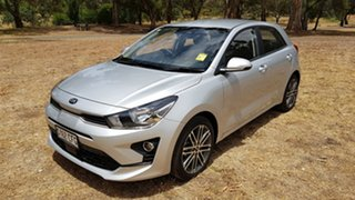 2020 Kia Rio YB MY21 Sport Silky Silver 6 Speed Automatic Hatchback