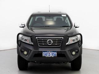 2015 Nissan Navara NP300 D23 ST (4x4) Black 6 Speed Manual Dual Cab Utility.