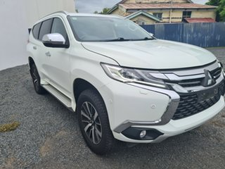 2015 Mitsubishi Pajero Sport QE MY16 Exceed White 8 Speed Sports Automatic Wagon