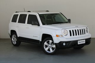 2016 Jeep Patriot MK MY16 Limited White 6 Speed Sports Automatic Wagon.