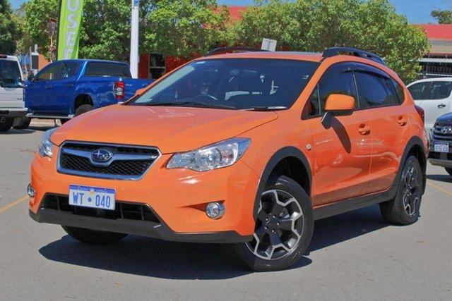 Used Subaru XV G4X MY14 2.0i-L AWD Midland, 2013 Subaru XV G4X MY14 2.0i-L AWD Orange 6 Speed Manual Wagon