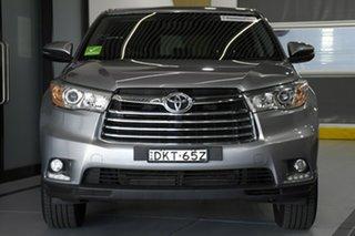2016 Toyota Kluger GSU50R GX (4x2) Silver 6 Speed Automatic Wagon