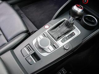 2016 Audi RS 3 8V Sportback Quattro Black 7 Speed Auto Dual Clutch Hatchback