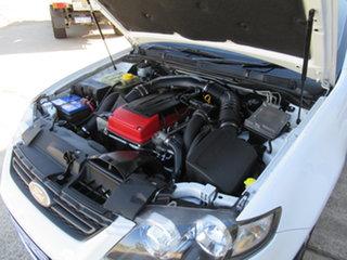 2012 Ford Falcon FG Mk II XR6 Turbo White 6 Speed Automatic Sedan