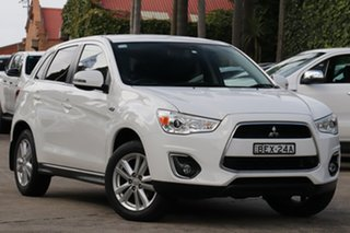 2013 Mitsubishi ASX XB MY14 Aspire (2WD) Continuous Variable Wagon.
