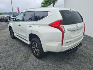 2015 Mitsubishi Pajero Sport QE MY16 Exceed White 8 Speed Sports Automatic Wagon.