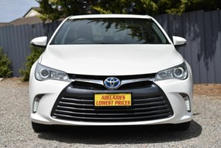 2017 Toyota Camry AVV50R Altise White 1 Speed Constant Variable Sedan Hybrid