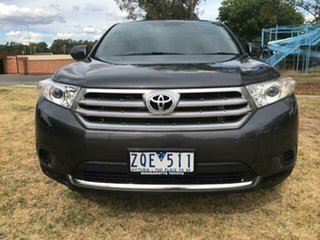 2013 Toyota Kluger GSU40R MY13 Upgrade KX-R (FWD) 7 Seat Graphite 5 Speed Automatic Wagon