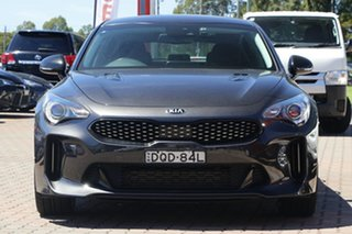 2017 Kia Stinger CK MY18 330Si Fastback Black 8 Speed Sports Automatic Sedan
