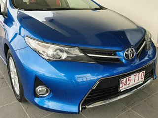 2013 Toyota Corolla Ascent Sport Blue 7 Speed Constant Variable Hatchback