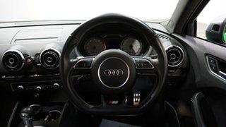 2016 Audi S3 8V MY16 S Tronic Quattro Green 6 Speed Sports Automatic Dual Clutch Sedan