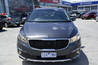 2016 Kia Carnival YP MY16 Platinum Grey 6 Speed Sports Automatic Wagon.