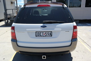 2007 Ford Territory SY TX White 4 Speed Sports Automatic Wagon