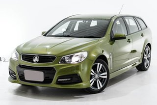 2015 Holden Commodore VF MY15 SV6 Sportwagon Green 6 Speed Sports Automatic Wagon.