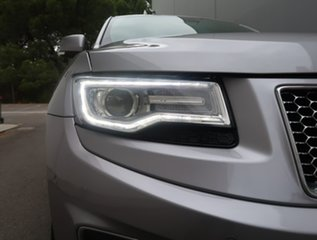 2013 Jeep Grand Cherokee WK MY2014 Limited Silver 8 Speed Sports Automatic Wagon.