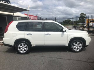 2009 Nissan X-Trail T31 MY10 TS (4x4) White 6 Speed Manual Wagon.