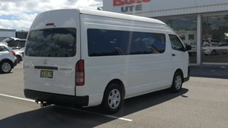 2015 Toyota HiAce KDH223R Commuter High Roof Super LWB French Vanilla 4 Speed Automatic Bus.