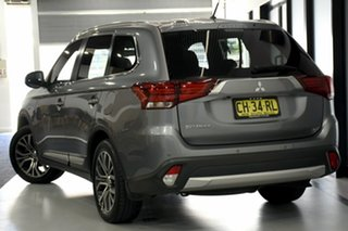 2016 Mitsubishi Outlander ZK MY16 XLS (4x2) Grey Continuous Variable Wagon.