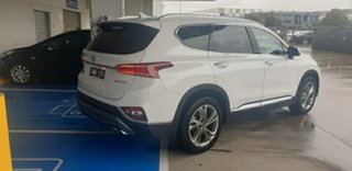 2019 Hyundai Santa Fe TM MY19 Highlander White Cream 8 Speed Sports Automatic Wagon.