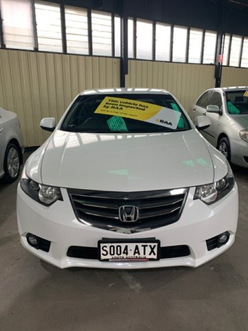Used Honda Accord 10 MY13 Euro Hampstead Gardens, 2012 Honda Accord 10 MY13 Euro White 5 Speed Automatic Sedan