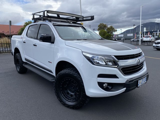Used Holden Colorado RG MY19 Z71 Pickup Crew Cab Glenorchy, 2019 Holden Colorado RG MY19 Z71 Pickup Crew Cab White 6 Speed Sports Automatic Utility