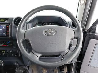 2017 Toyota Landcruiser VDJ79R GXL (4x4) Grey 5 Speed Manual Cab Chassis