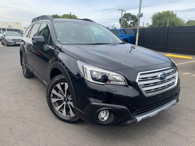 Used Subaru Outback B6A MY16 2.5i CVT AWD Premium Hillcrest, 2016 Subaru Outback B6A MY16 2.5i CVT AWD Premium Black 6 Speed Constant Variable Wagon