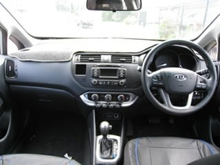 2012 Kia Rio UB MY13 S Silver 4 Speed Automatic Hatchback
